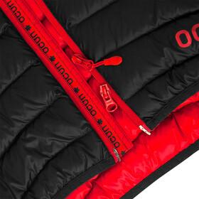 Ocun Tsunami Chaqueta de plumas Hombre, black/red